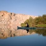Piragüismo en el Ebro