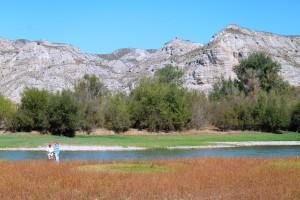 Bardena esteparia y jungla fluvial contrastan en el entorno de Sobradiel.
