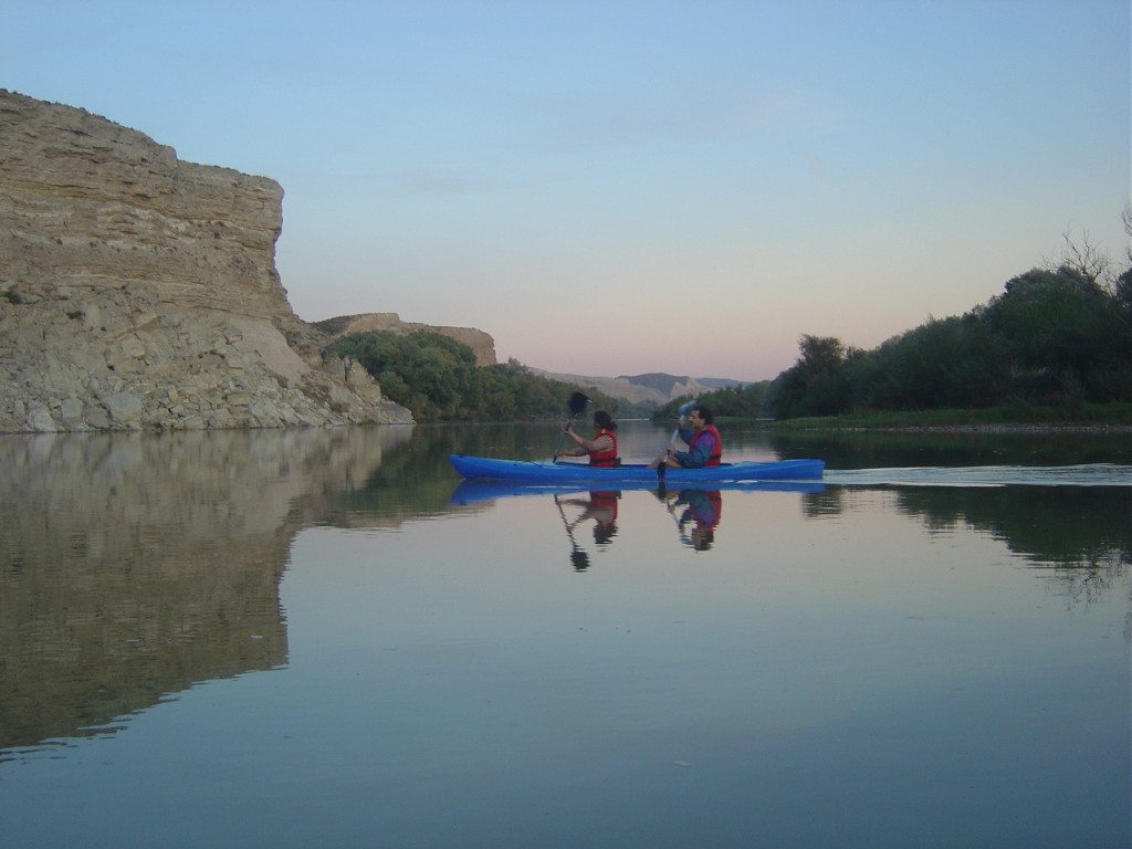 "La Caldera (""the chauldron"") is one of our favourite spots in the Ebro"