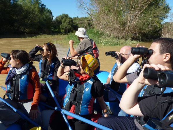 Descenso ornitológico con SEO-Birdlife Aragón