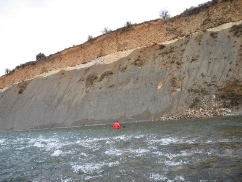 El Río Aragón en piragua