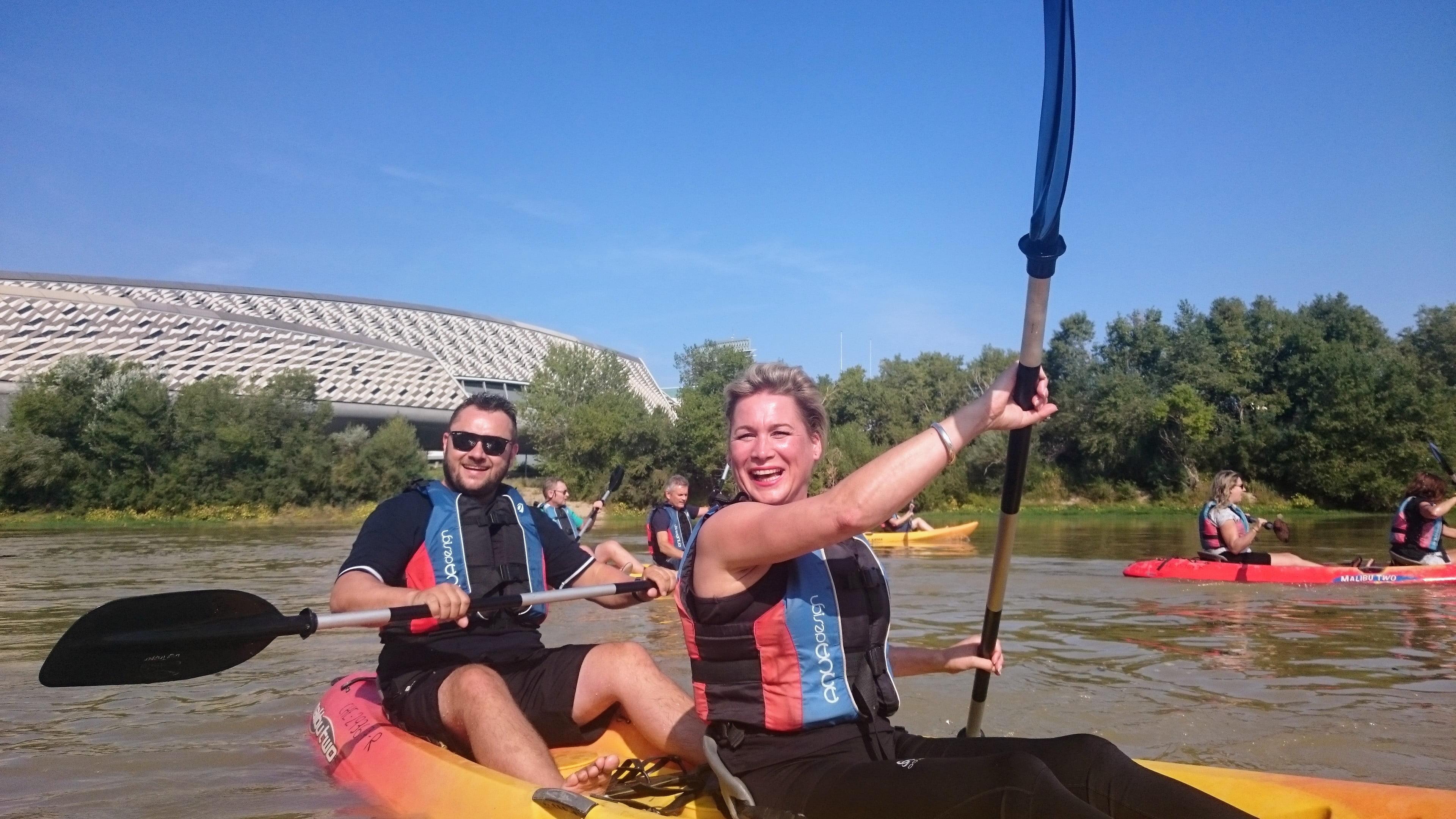 Incentivo en río Ebro en Zaragoza