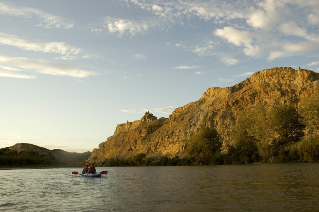 The Ebro river, an opportunity for solitude and intimate contact with Nature.