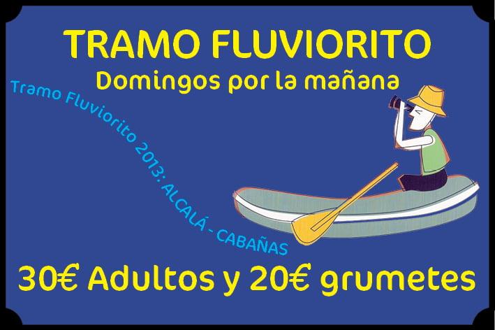 Oferta descenso Tramo fluviorito (Alcalá Cabañas)