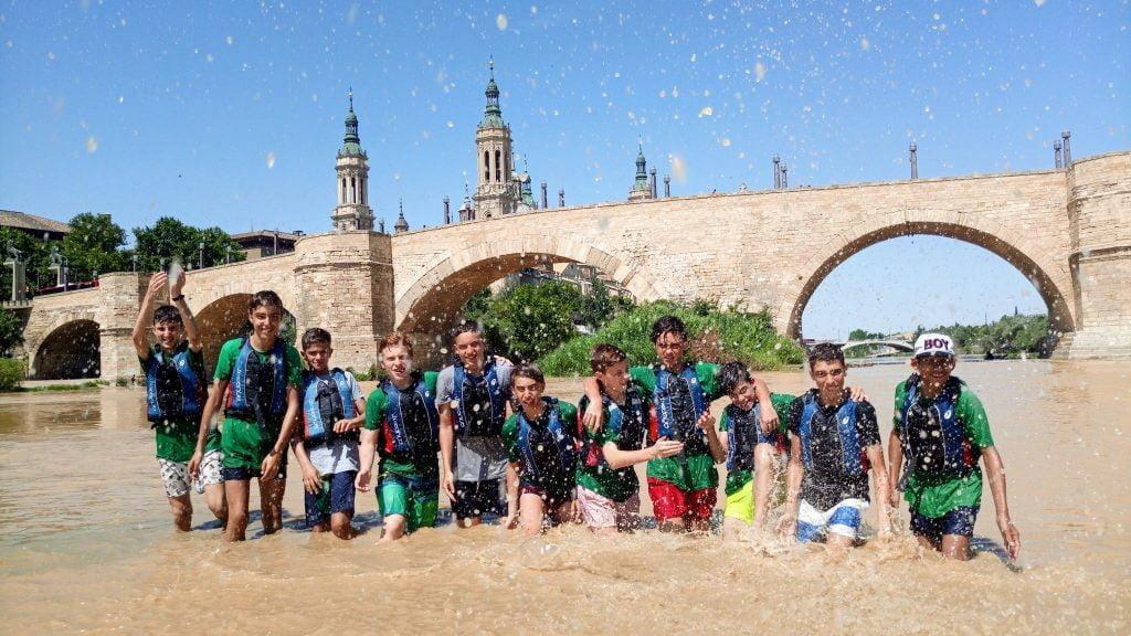 Cumpleaños en el Ebro