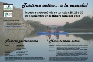 Turismo activo... a la cazuela! Muestra gastronómica y turística Ribera Alta del Ebro