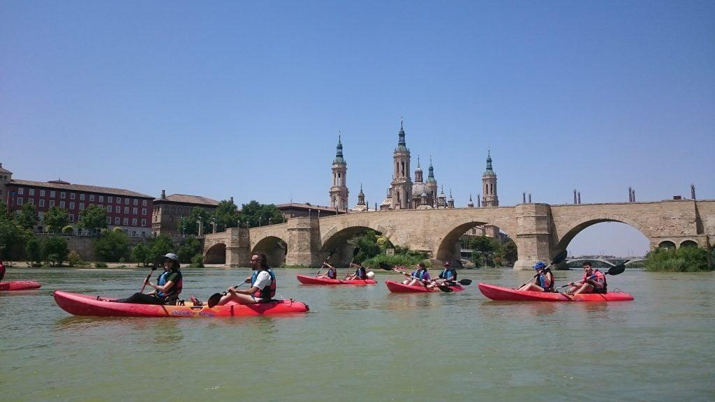 Descenso Conquista Fluvial de Zaragoza